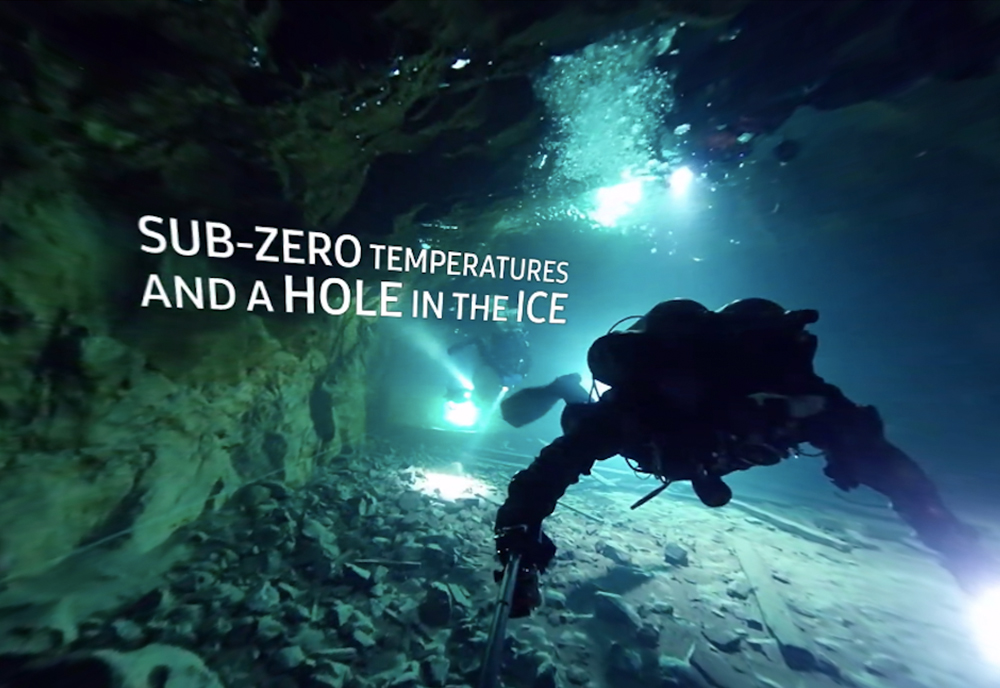360 diving video finland