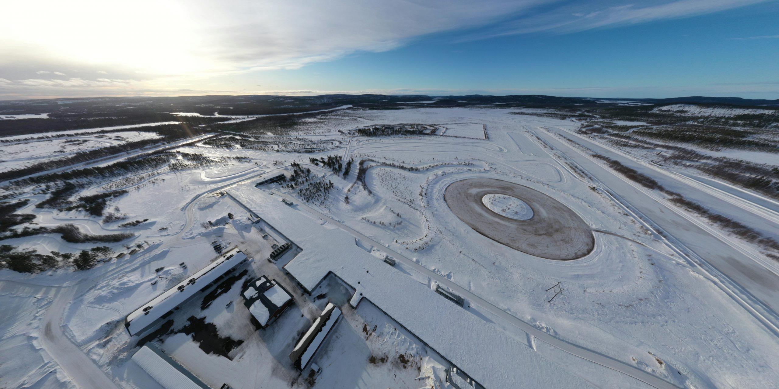 Drone photo Test World Ivalo