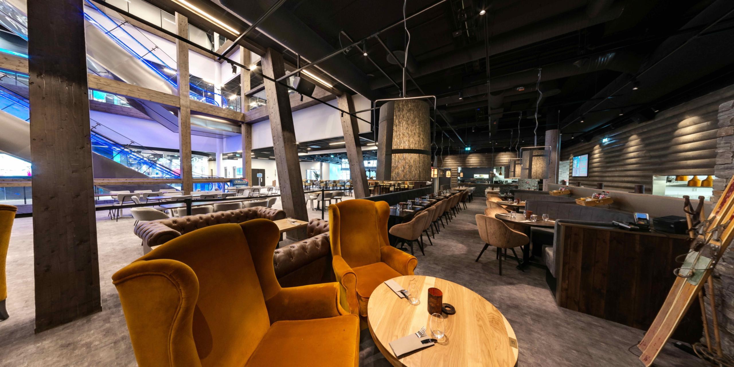 Restaurant in SNØ Oslo indoor ski centrum