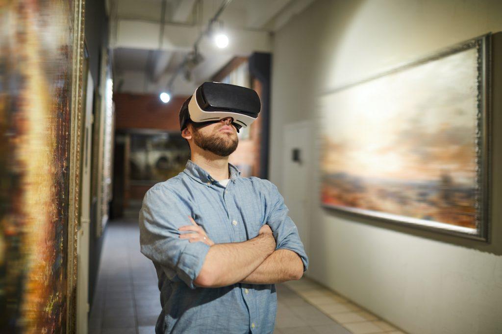 virtuell tur man